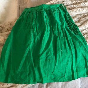 J crew midi length skirt